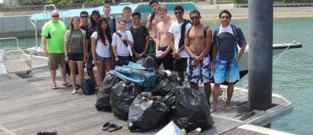 Beach clean up Oman