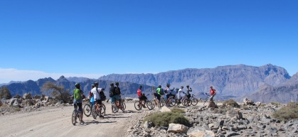 Off-road biking in the Sultanate