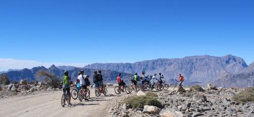 Off-road biking in the Sultanate
