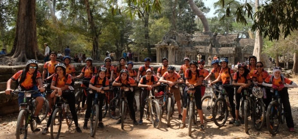 New activities in Cambodia